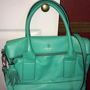 Mint Green Kate Spade Shoulder and Crossbody Bag